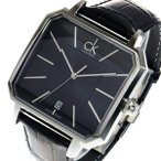 腕時計 カルバン クライン CALVIN KLEIN クオーツ メンズ 腕時計 K1U21107 ブラック(ご注文から3〜5日以内に出荷可能商品)