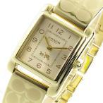 ショッピングコーチ コーチ COACH クオーツ レディース 腕時計 14502160 ゴールド(ご注文から3〜5日以内に出荷可能商品)