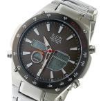 腕時計 エルジン ELGIN 電波 ソーラー メンズ 腕時計 FK1416S-BP グレー 国内正規品 (ご注文から3〜5日以内に出荷可能商品)