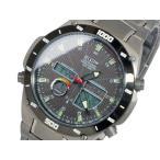 腕時計 エルジン ELGIN ソーラー 電波 メンズ チタン ワールドタイム 腕時計 FK1397TI-BP  国内正規品 (ご注文から3〜5日以内に出荷可能商品)