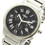 腕時計 フェンディ FENDI 腕時計 メンズ F252011000 クラシコクロノ クォーツ ブラック シルバー(ご注文から3〜5日以内に出荷可能商品)