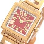腕時計 フェンディ FENDI 腕時計 レディース F605527200 クアドロミニ QUADOROMINI クォーツ レッド ピンクゴールド(ご注文から3〜5日..