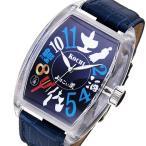 腕時計 フランク三浦 ご当地三浦 高知県 よさこい龍馬モデル 腕時計 FM04NK-KCHBL(ご注文から3〜5日以内に出荷可能商品)