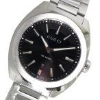 腕時計 グッチ GUCCI GG2570 クオーツ メンズ 腕時計 YA142301 ブラック(ご注文から3〜5日以内に出荷可能商品)