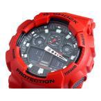ショッピングShock 腕時計 カシオ CASIO Gショック G-SHOCK アナデジ 腕時計 GA-100B-4A(ご注文から3〜5日以内に出荷可能商品)