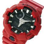 ショッピングShock 腕時計 カシオ CASIO Gショック G-SHOCK Gショック G-SHOCK クオーツ メンズ 腕時計 GA-700-4A ブラック/レッド(ご注文から3〜5日以内に出荷可能商品)