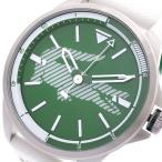 腕時計 ラコステ LACOSTE 腕時計 メンズ 2010965 クォーツ グリーン ホワイト    (ご注文から3〜5日以内に出荷可能商品)