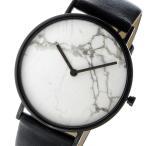 腕時計 ザ ホース THE HORSE ストーンダイアル ユニセックス 腕時計 STO123-C2 ホワイトマーブル/ブラック(ご注文から3〜5日以内に出荷..