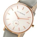 腕時計 ザ ホース THE HORSE クラシック クオーツ ユニセックス 腕時計 AS01-B1 ホワイト/グレー(ご注文から3〜5日以内に出荷可能商品)