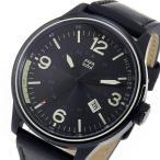 腕時計 トミー ヒルフィガー TOMMY HILFIGER クオーツ メンズ 腕時計 1791103 ブラック(ご注文から3〜5日以内に出荷可能商品)