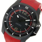 腕時計 トミー ヒルフィガー TOMMY HILFIGER クオーツ メンズ 腕時計 1791112 ブラック(ご注文から3〜5日以内に出荷可能商品)