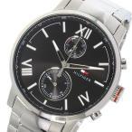 腕時計 トミー ヒルフィガー TOMMY HILFIGER クオーツ メンズ 腕時計 1791307 ブラック (ご注文から3〜5日以内に出荷可能商品)
