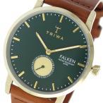 腕時計 トリワ TRIWA クオーツ ユニセックス 腕時計 FAST112-CL010217 グリーン / ブラウン(ご注文から3〜5日以内に出荷可能商品)
