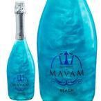 Yahoo!ヴァミリオンマバム ビーチ 750ml (新商品) (ラメ入り スパークリングワイン フルーツフレーバー) (MAVAM BEACH)