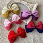 ショッピング髪飾り 和装リボン5色袴成人式髪飾り結婚式七五三卒業式