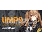 ドールズフロントライン キャラクターワッペン8 UMP9 / イザナギ