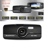 ショッピングドライブレコーダー 高画質 ドライブレコーダー ZD-VR1 対角140度の広角レンズ採用
