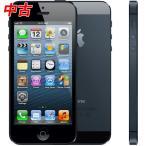 ショッピングused 【中古品】 Apple iPhone5 32GB ブラック A1429 ME043J/A au版