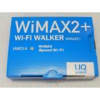 モバイルルータ WIMAX2+ HWD14 NAD11