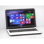 [中古] A4ノートパソコン HP 15-ac033TU M7R09PA#ABJ ホワイトシルバー [Corei5-5200U-2200/4GB-MEM/500GB-HDD/DVDSuperMulti/15.6inchW/Win8.1-64bit]