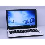 [中古] A4ノートパソコン HP 15-ac153TU P3V78PA#ABJ ホワイトシルバー [Celeron-N3050-1600/4GB-MEM/500GB-HDD/DVDSuperMulti+-DL/15.6inchW/Win10Home64bit]