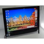 [中古] モニタ一体型デスクトップ NEC VALUESTAR PC-VN750RG6B [Core2Duo-E7200/2GB-MEM/320GB-HDD/DVDマルチドライブ/19inch/WindowsVista]