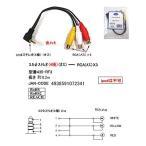 【COMON】 3.5mmステレオ4極(オス) - RCA(メス)x3 変換ケーブル 【435-RF3】