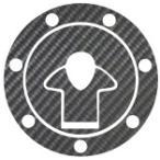 HASEPRO(ハセ・プロ) 《マジカルカーボン》 バイク タンクキャップ KAWASAKI 7穴 ヤマトネコポス便対象品 送料無料