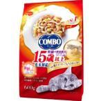 日本ペットフード コンボ キャット 毛玉対応15歳以上 かつお味・焼きタラチップ・ちりめん添え 600g