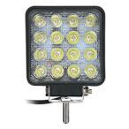 LED ワークライト 16灯 48W 黄発光 ML-9
