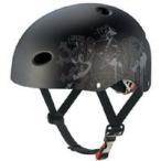 FR-KIDS エフアールキッズ 自転車ヘルメット子供用 エンブレムフラットブラック サイズ:50〜54cm(未満)