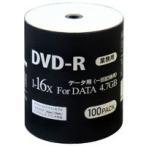 DR47JNP100_BULK DVD-R DVDR е╟б╝е┐═╤ 16╟▄┬о100╦ч