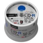 【期間限定特価】TYCR80YP50SPMG CD-R CDR 700MB データ用 48倍速50枚 TYコード(太陽誘電の品質)
