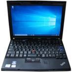 [中古] 激安!! Win10モバイル!! 大容量9セルBT搭載 LENOVO Thinkpad X201(Core i5-540M 2.53GHz/4GB/320GB/Windows10-64)
