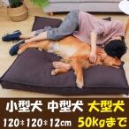 ペット マット ベッド 小型犬/中型犬/大型犬 シンプル 安眠 汚れにくい 介護 厚い 通気 柴犬 安眠 ぐっすり 噛み耐え 丈夫 シンプル XL 120*120*12cm
