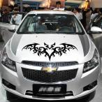 車ステッカー フード 動物図案 ステッカー こうもりステッカー 蝙蝠ステッカー ステッカー 傷を覆うステッカー カーステッカー クール