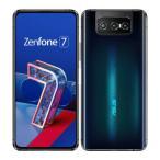 SIMFREE Zenfone 7 5G RAM8GB ROM128GB ZS670KS 日本国内版 新品 ブラック [Black] ASUS 白ロム スマートフォン