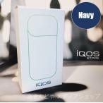 新品 在庫あり/送料無料/アイコス iQOS チャージャーのみ POCKET CHARGER 単品  ネイビー 青 NAVY Blue Black 電子タバコ  充電器 バッテリー 電子煙草 iCOS