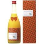 研醸酒造 ミルクたっぷりマンゴーの梅酒 720ml/12本.hn お届けまで14日ほどかかります