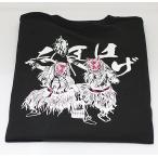 佐々木民芸 なまはげTシャツ黒  (Mサイズ)
