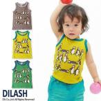 子供服 男の子 ペンギン柄タンクトップ ディラッシュ DILASH 70cm 80cm メール便OK DS1