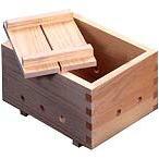【手作り豆腐】【豆腐用木箱】14.5×10×8.5cm(豆腐2丁分用)