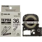 ショッピングシール ラベルシール、プリンタ、文具、オフィス用品 | (業務用まとめ×20) キングジム テプラPROテープ/ラベルライター用テープ 〔幅:36mm〕 SV36K 白に黒文字