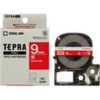 ショッピングシール ラベルシール、プリンタ、文具、オフィス用品 | (業務用まとめ×50) キングジム テプラPROテープ/ラベルライター用テープ 〔幅:9mm〕 SD9R 赤に白文字