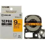 ショッピングシール ラベルシール、プリンタ、文具、オフィス用品 | (業務用まとめ×50) キングジム テプラPROテープ/ラベルライター用テープ 〔幅:9mm〕 SC9D 橙に黒文字