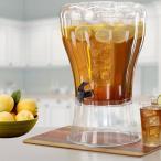 アンブレイカブル 13リットル 飲料水 ディスペンサー 氷入れ付 大容量 Buddeez Unbreakable 3-1/2-Gallon Beverage Dispenser with Removable Ice-Cone 085