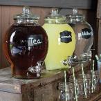 カントリーチコ ビバレッジディスペンサー 飲料サーバー 約5.6L Country Chic Glass Beverage Dispenser