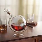 ワイン インスージアスト エッチング 地球儀 スピリッツ デカンタ Wine Enthusiast Etched Globe Spirits Decanter
