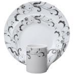 コレール インプレッションズ ディナーウェアー ファエンツァ 食器16点セット Corelle Impressions 16-Piece Dinnerware Set, Faenza, 1107639