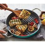 グリーンパン ヘルシーセラミック ノンスティックグリルパン 28cm ティール GreenPan for Sur La Table Healthy Ceramic Nonstick Grill Pans, 11inch Teal
